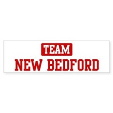 Team New Bedford Bumper Bumper Sticker