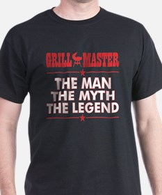 Grillmaster The Man The Myth The Legend BB T-Shirt