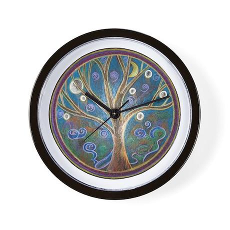 'Tree of Life' - Wall Clock