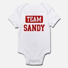 Team Sandy Infant Bodysuit