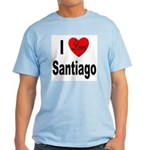 I Love Santiago Chile Light T-Shirt