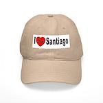 I Love Santiago Chile Cap