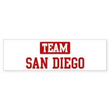 Team San Diego Bumper Sticker