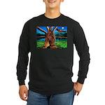 Rastafarian Wisdom Long Sleeve Dark T-Shirt