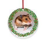 Hamster ornaments Ornaments