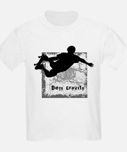 Defy Gravity 4 Skateboarding T-Shirt