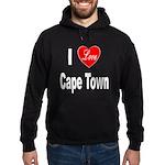 I Love Cape Town (Front) Hoodie (dark)