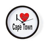 I Love Cape Town Wall Clock