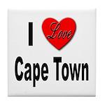I Love Cape Town Tile Coaster