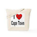 I Love Cape Town Tote Bag