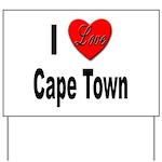 I Love Cape Town Yard Sign
