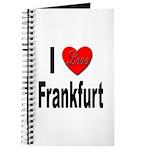 I Love Frankfurt Germany Journal