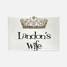 Landon's Wife Rectangle Magnet