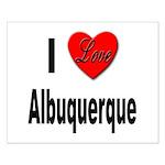 I Love Albuquerque Small Poster