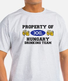 Property of Hungary Drinking Team T-Shirt