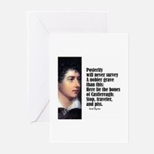 "Byron ""Posterity"" Greeting Cards (Pk of 10)"