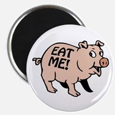 """Pinky the BBQ Pig * 2.25"""" Magnet (100 pack)"""