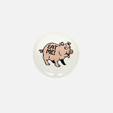Pinky the BBQ Pig * Mini Button (100 pack)