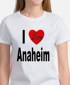I Love Anaheim California Tee