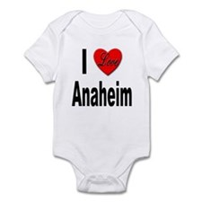 I Love Anaheim California Infant Bodysuit