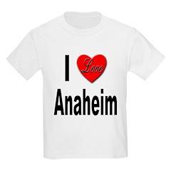 I Love Anaheim California (Front) T-Shirt