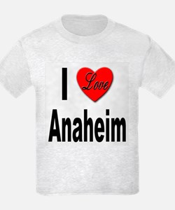 I Love Anaheim California T-Shirt