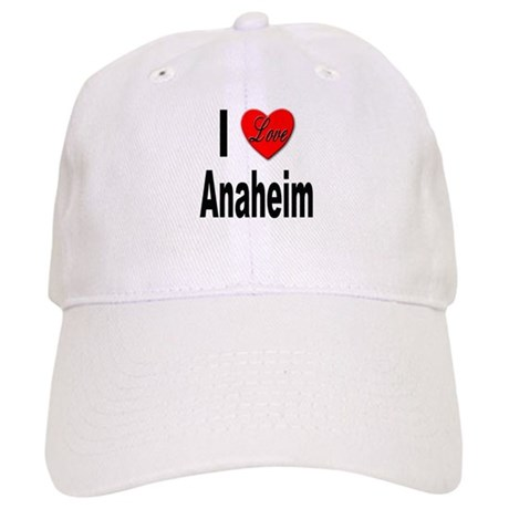 I Love Anaheim California Cap