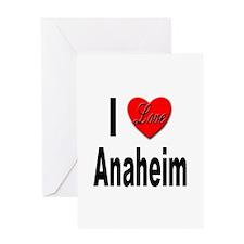 I Love Anaheim California Greeting Card
