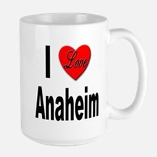 I Love Anaheim California Mug