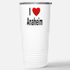 I Love Anaheim California Travel Mug