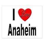 I Love Anaheim California Small Poster