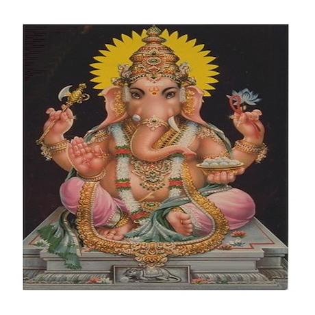 Ganesh Tile Coaster