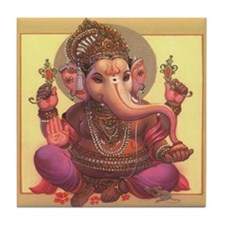 Ganesh Tile Coaster
