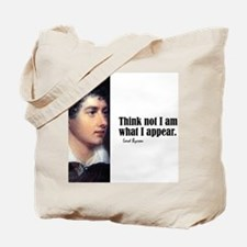 """Byron """"Think Not"""" Tote Bag"""