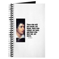 "Byron ""Will Not Reason"" Journal"