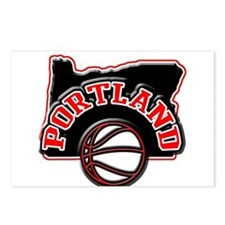 Portland Basketball Postcards (Package of 8)