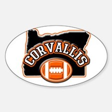 Corvallis Football Oval Decal