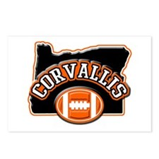 Corvallis Football Postcards (Package of 8)