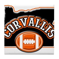 Corvallis Football Tile Coaster