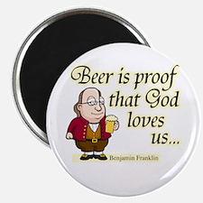 Beer is Proof - Magnet