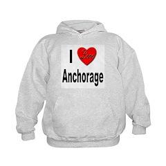 I Love Anchorage Alaska Hoodie