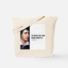 "Byron ""To Have Joy"" Tote Bag"