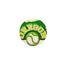 Oregon Baseball Mini Button