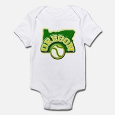 Oregon Baseball Infant Bodysuit