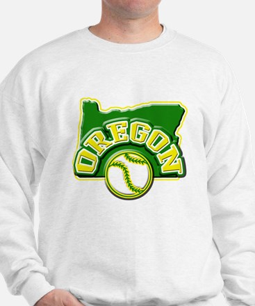 Oregon Baseball Sweatshirt