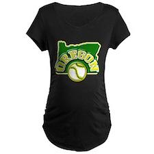 Oregon Baseball T-Shirt