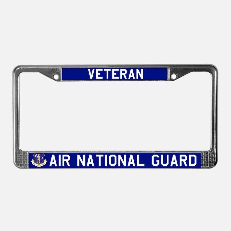 ANG Vet License Plate Frame