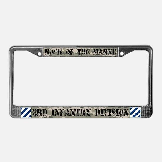 3rd Infantry Division License Plate Frame