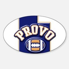 Provo Football Oval Decal