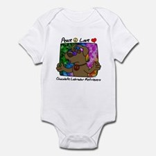 Hippie Chocolate Lab Infant Bodysuit